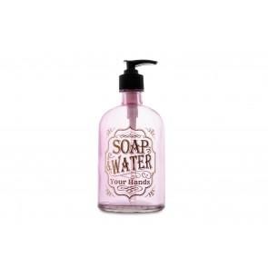 Dispenser Diseño Soap Water Rosa