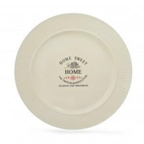 Plato playo con diseño Sweet Home 26.5cm