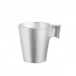 Taza Vidrio Templado 8 ml Silver Flashy Expresso Luminarc